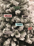 Christmas Ornament Set - 25 Names of Christ - Advent