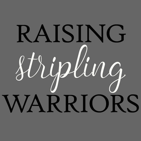 """Raising Stripling Warriors""- Long Sleeve Shirt (Women's Sizes)"