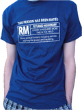 RATED RM Shirt - LDS Mission Tees