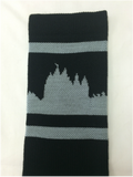 Salt Lake City Temple Socks - Gray