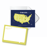 Map Flat Card Styles (Sold in sets of 16):