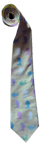 Easter Bunny Men's or Boy's Necktie - Ties with cute bunnies!
