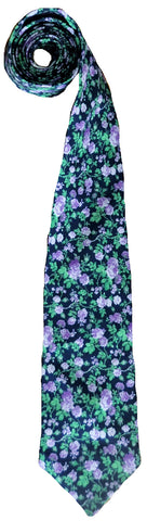 Floral Men's & Boy's Necktie - Flower Power!