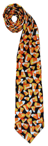 Candy Corn Tie - Handmade Men's Necktie