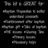Baptism Bundle Flannel Board Stories Kit with Story Cards