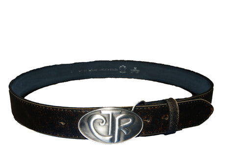CTR Belt Buckle w/Leather Belt