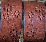 Personalized Leather Cuff - Missionary Mom / Grandma / Dad by Reclaimed Rustic Boutique