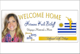 Missionary Welcome Home Banner **DIGITAL FILE