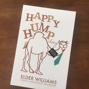 Happy Hump Day Poster - Foam Core Print