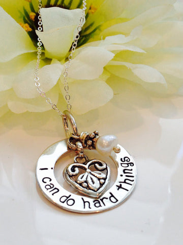 I Can Do Hard Things Necklace