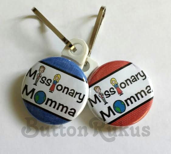 Missionary Momma Key Chain/Zipper Pull