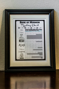 DIGITAL DOWNLOAD - Book of Mormon Reading Chart Checklist