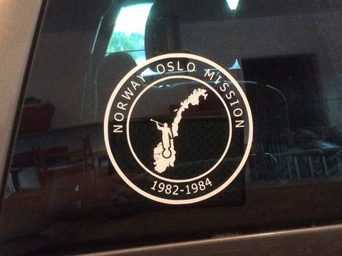 Car Decal - Mission Specific