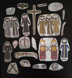 Resurrection of Jesus Easter Story Flannel Board Story