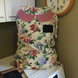 Sister Missionary Laundry Bag - Floral