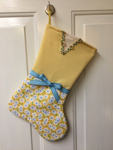 Little girl's, Lady's, Sister Missionary's Christmas stocking. A bit of sunshine!