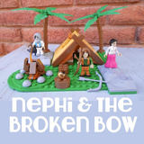 Bundled Building Block Set - Nativity, Nephi & Bible Figures Sets