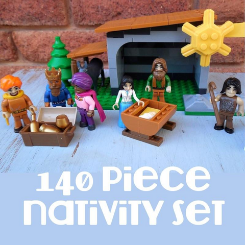 Nativity Scene Building Block Set