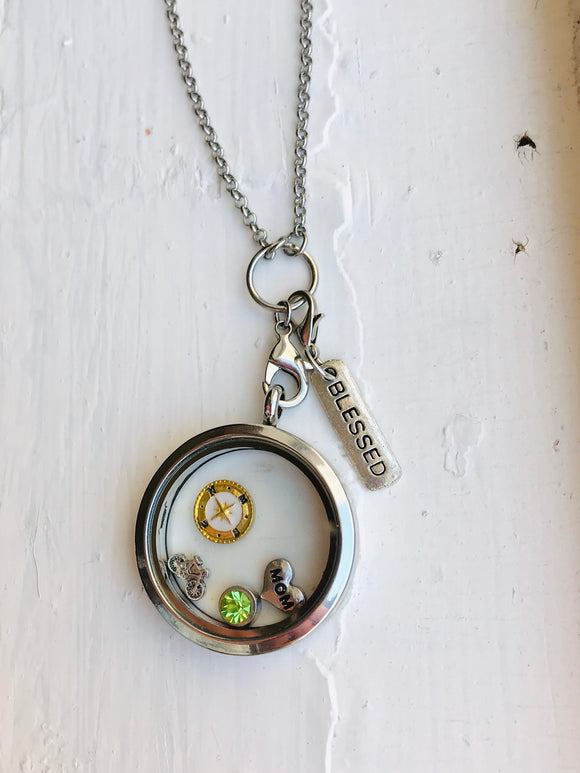 Floating Charm Locket, Custom Mission