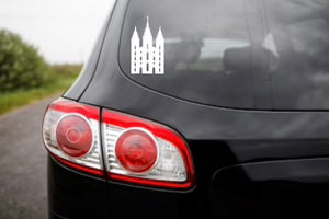 Temple Decal/Sticker, Car Decal