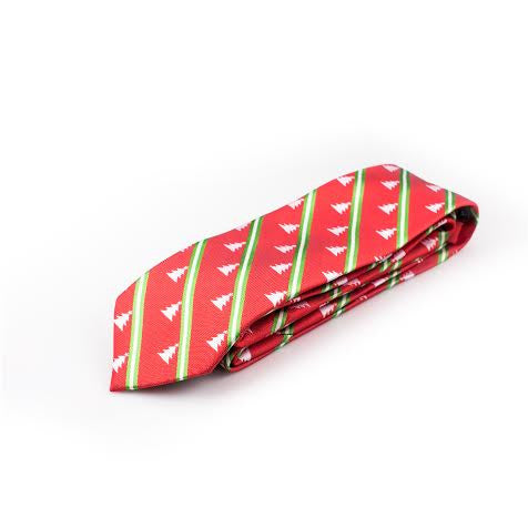 Christmas Tie - Red
