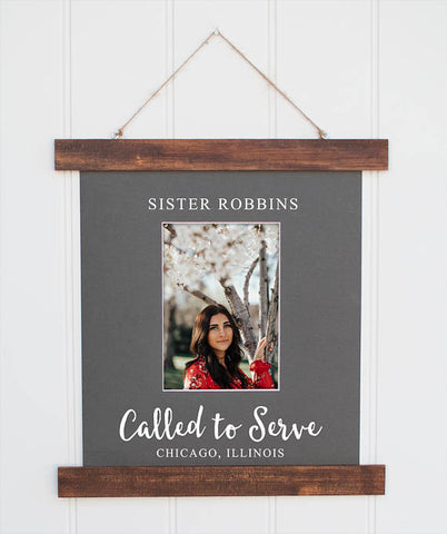 Called to Serve Photo Frame by Sugar Pine Frame Co.