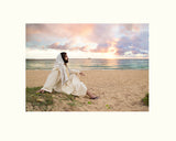 Meditation of Christ - Matted Photographic Print