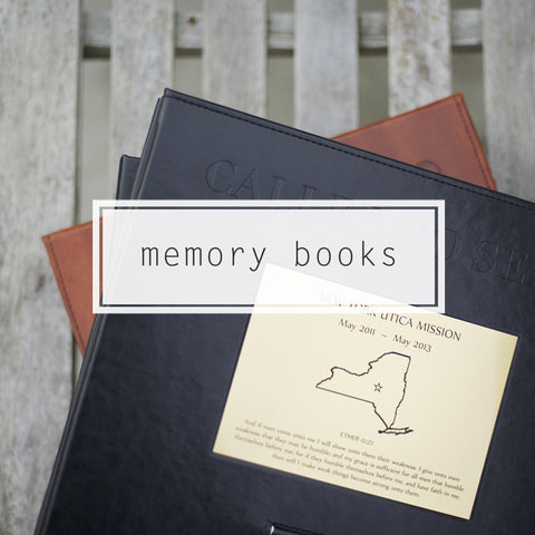 Mission Moments - Memory Book - NEW LOWER PRICE $49.99