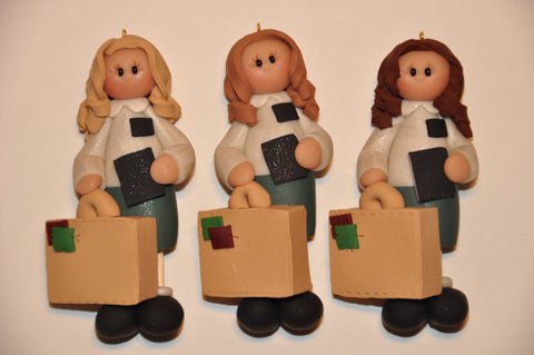Sister Missionary Ornament