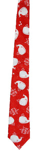 """I Whaley Love You"" Ties - Handmade Men's Necktie"