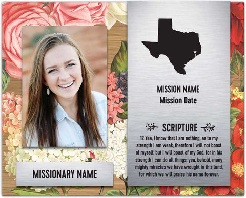 Waterfall Serene - Missionary Plaque