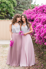 Kelly Maxi Skirt - Lilac