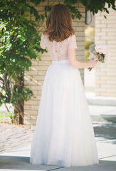 Tulle Maxi Skirt - Ivory (Soft Tulle)