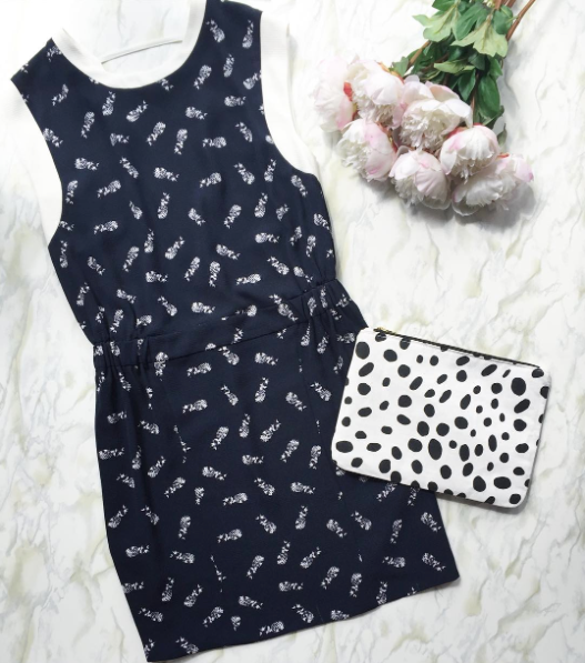 Pineapple Printed Dress