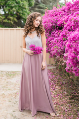 Kelly Maxi Skirt - Mauve
