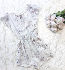 The Jetset Diaries - Flirty Floral Romper