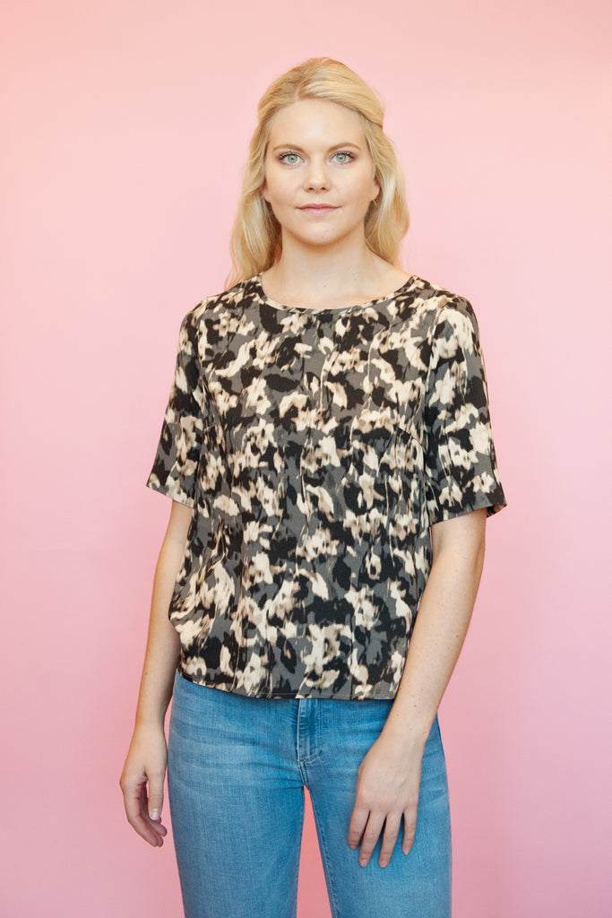 Floral T-Shirt Blouse