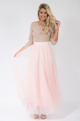 Soft Tulle Maxi Skirt *More Colours*