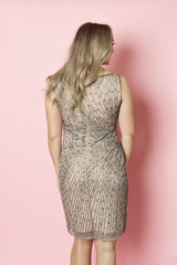 Adrianna Papell Beaded Mini Dress