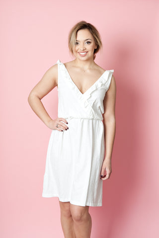 Reversible Little White Dress