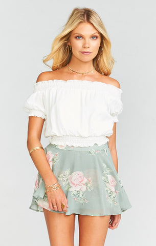 Show Me Your Mumu - Gigi Smocky Top