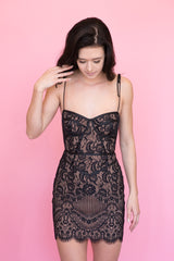 For Love and Lemons - Tati Lace Corset Dress *More Colours*