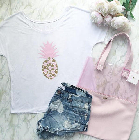 Adorn Collection - Pineapple Tee