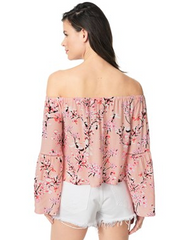 Audrina Off the shoulder Top