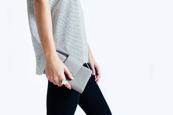 Status Anxiety - The Fallen Wallet/Clutch