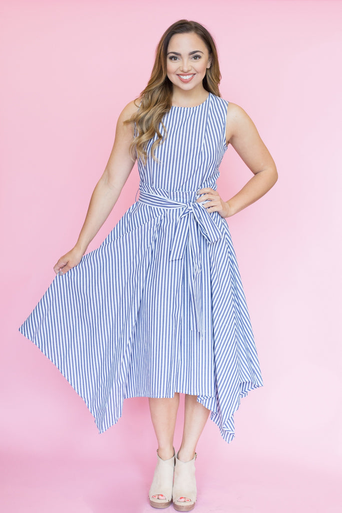 Sevilla Striped Dress