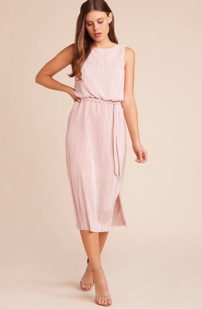 Marianne Pleated Midi Dress