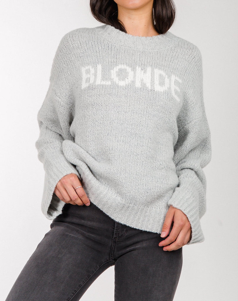 BTL - Blonde Knit Sweater