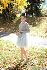 Tulle Skirt - Blue-Grey (Special Edition)