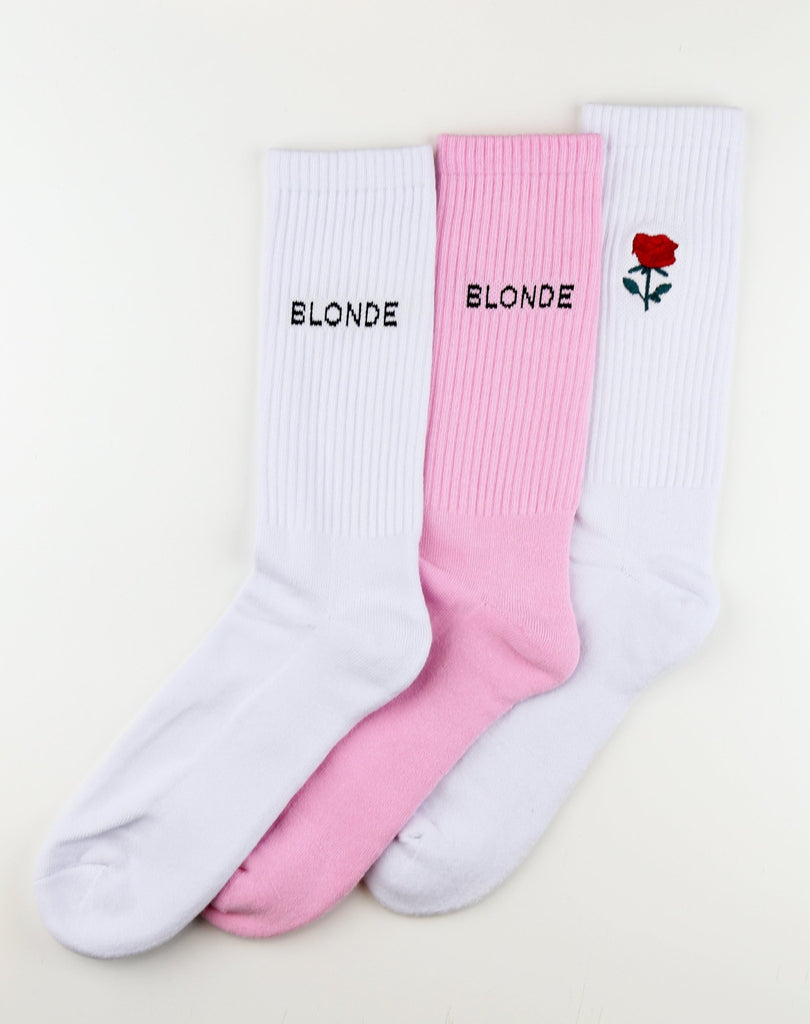 BTL - Blonde Sock (3 pack)